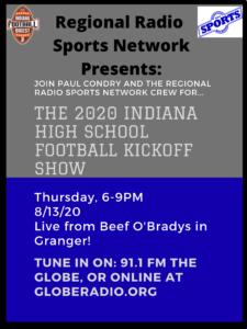 The 2020 Indiana high school football kickoff show