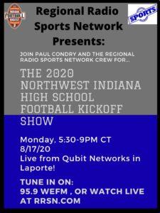 The 2020 Northwest Indiana High School Football Kickoff Show