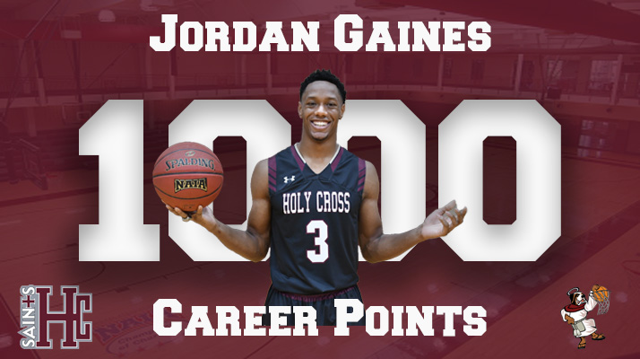 GAINES JOINS 1,000 POINT CLUB IN SAINTS MBB WIN